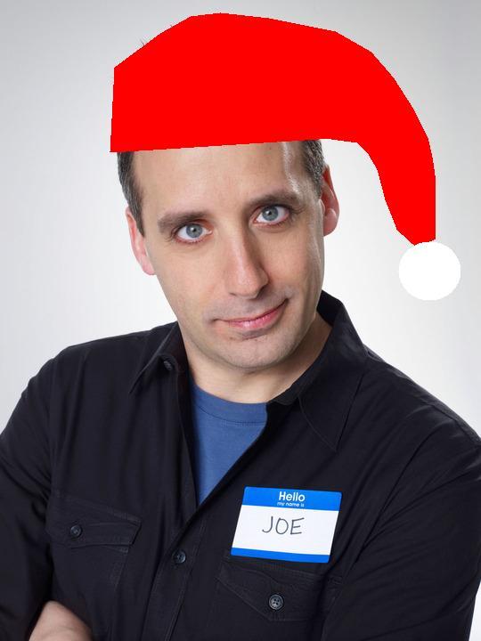 Joe with Christmas Hat by Dear-Santeh