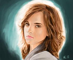 Hermione Granger by Derfblue