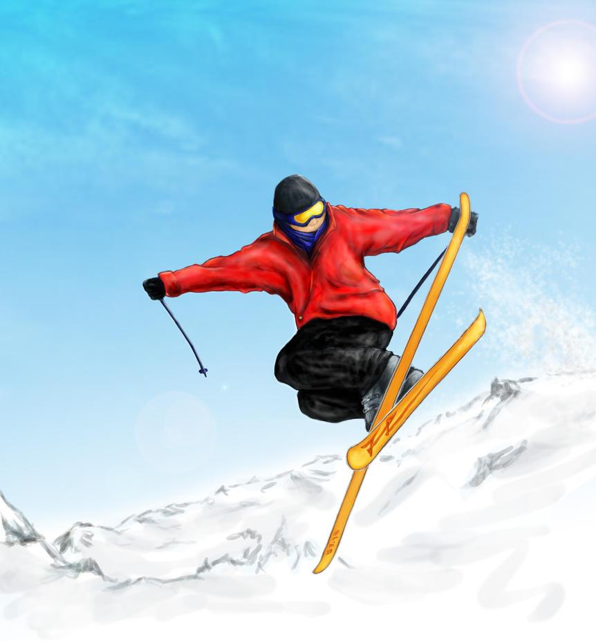 freestyle skiing wallpaper - photo #30