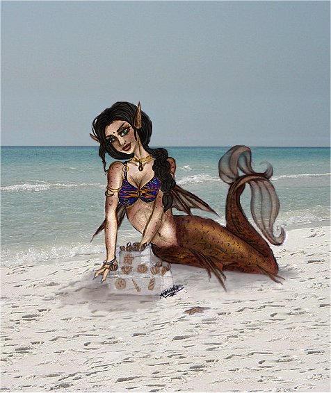 Mermaid of Delhi by ladymeridian