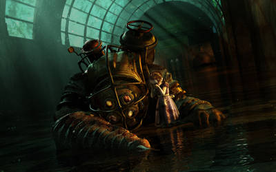 BioShock - Mr. Bubbles Death