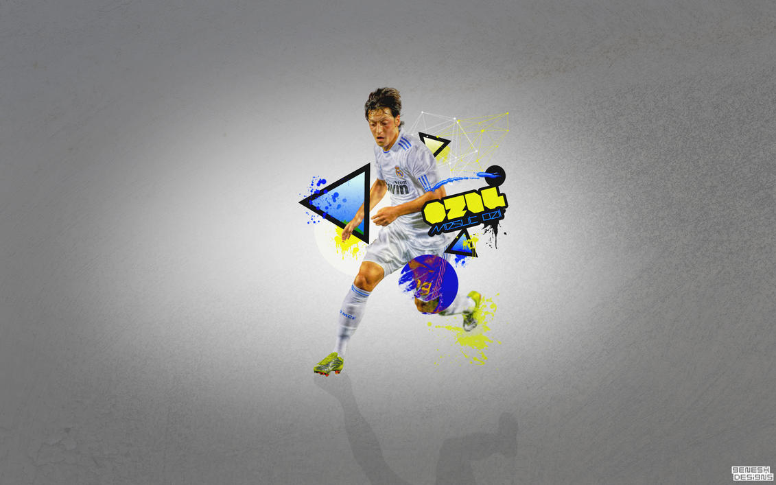Mesut Ozil By Genesh94 On DeviantArt