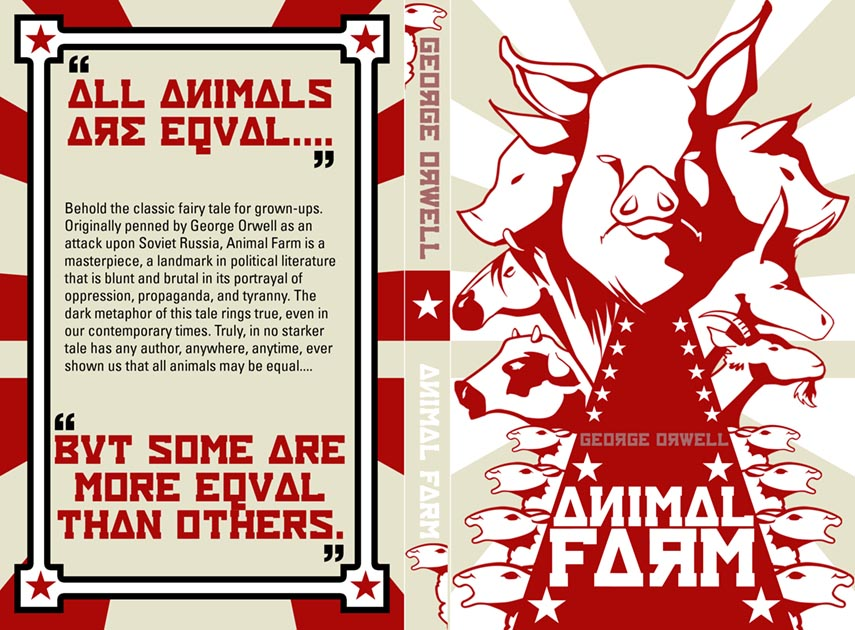 animal farm a story based on George orwell's allegorical novel animal farm is one such example  a political  allegory is a story or image that has a hidden political.