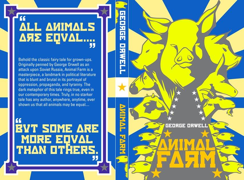 Animal Farm Book Cover V2d By Astrocrush On Deviantart