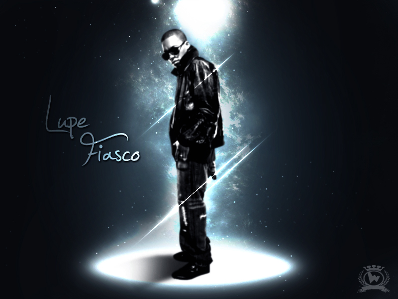 Lupe Fiasco spot light by Weslo11