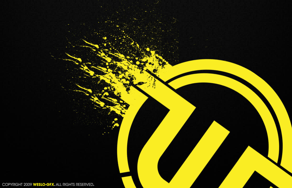 Yellow Logo Wall October by Weslo11