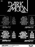 Dark Moon Serif TypeFace by Weslo11