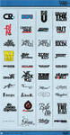 LogoTypes 2 by Weslo11