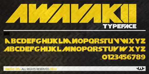 Awavakii Typeface Font