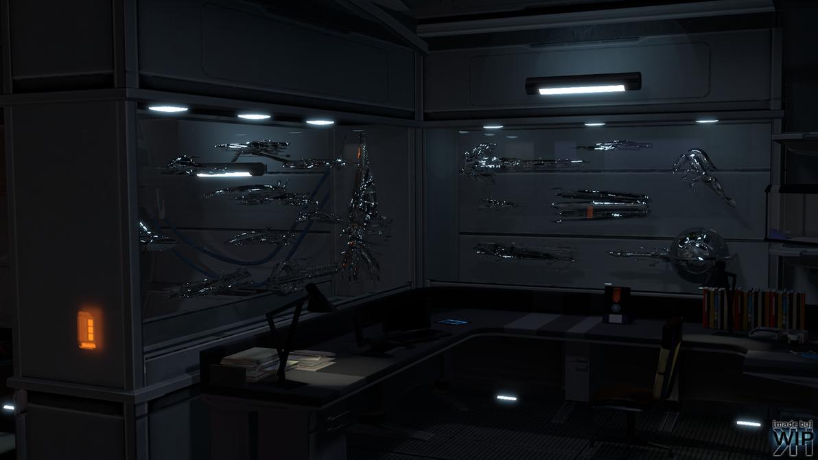 Mass effect captains cabin