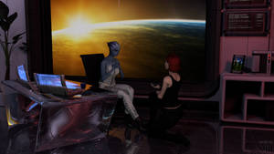 Liara and Jane: A special question for the broker