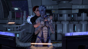 Liara and Kayla: Just for a moment