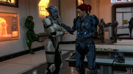 Liara and Kayla: Sunset Strip #7