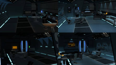 Normandy Class Captain's Cabin WIP