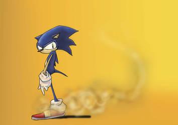 Sonic the hedgehog. by Hewlettmad