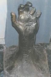 Jesus Nalied Hand by ARDM