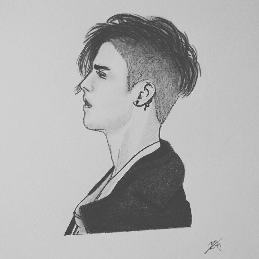 Justin Bieber Sketch By Kaieechin On DeviantArt