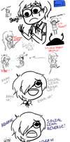 Persona 3 Scribbles