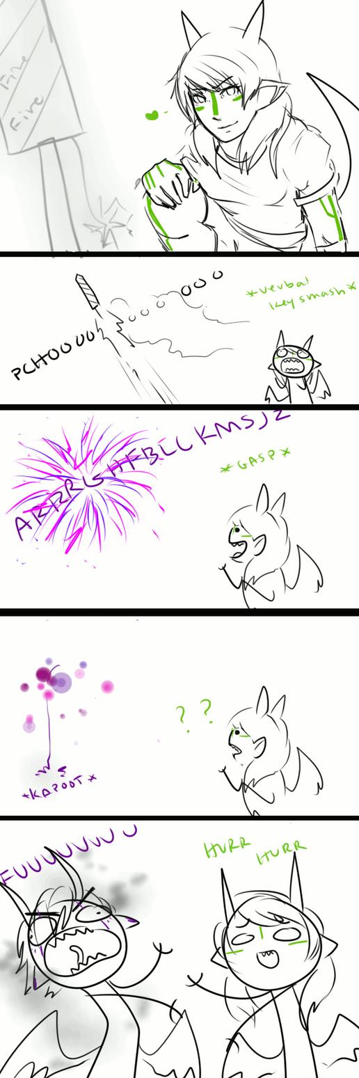 Fireworks by Pharos-Chan