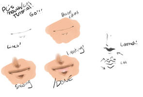 PC's Mouth and Lips tutorial! by Pharos-Chan