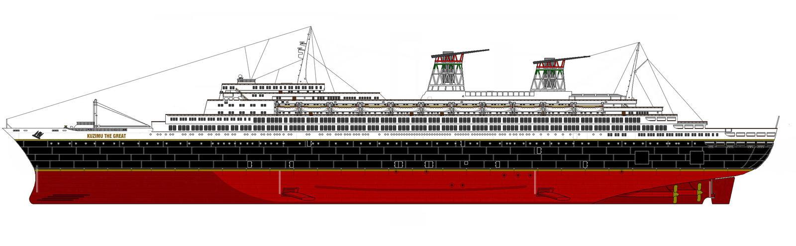 Kuzimu The Great Ocean Liner By Mufasa111 On DeviantArt