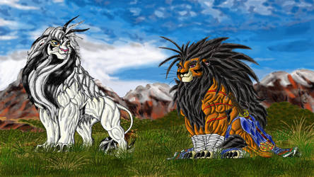 Warriors of light by mufasa111
