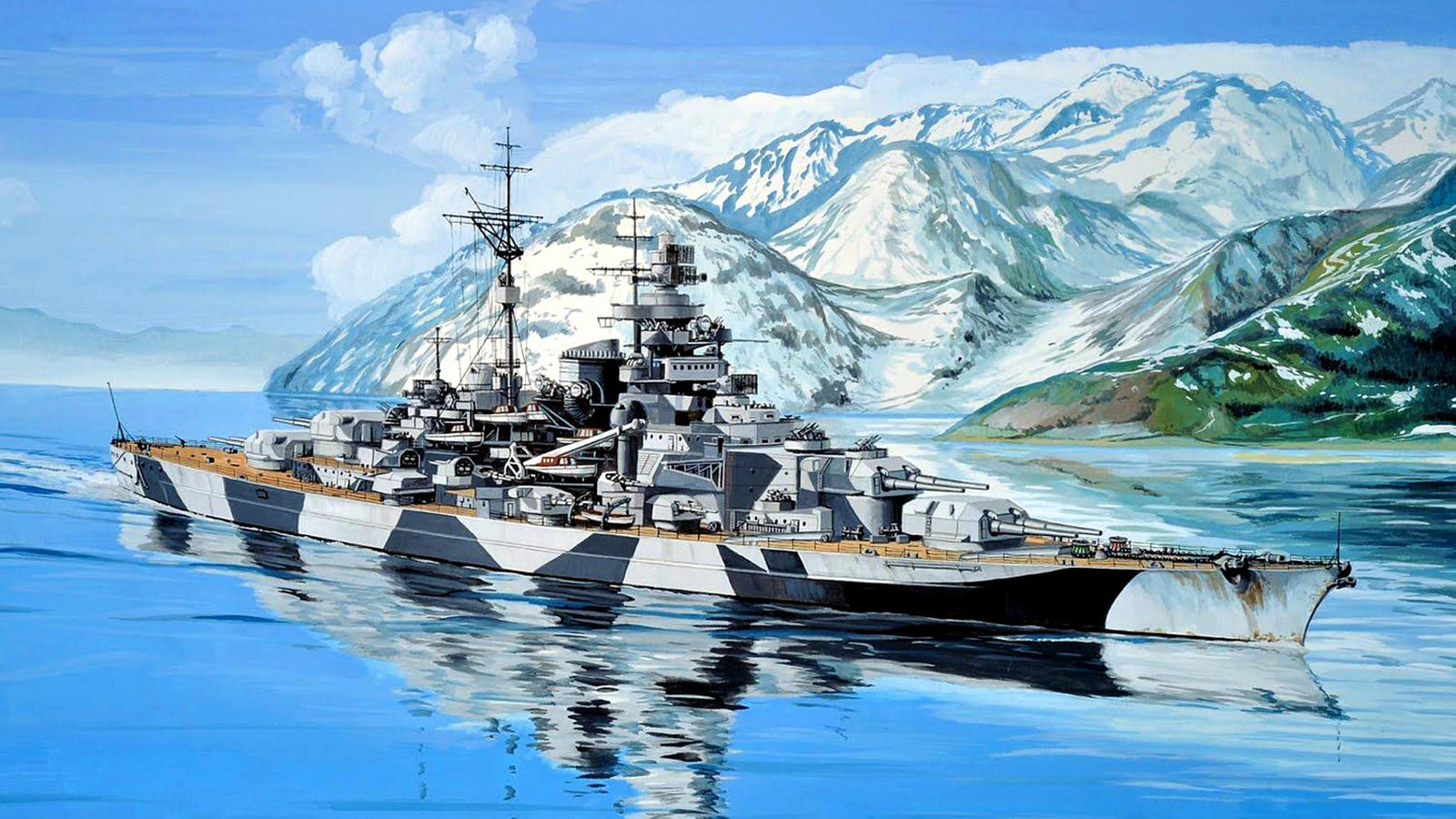 battleship tirpitz the lonely queen of the north by