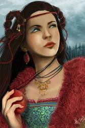 Princess Snow White by Eireen