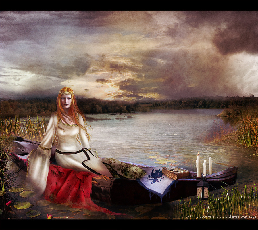 The Lady Of Shalott Wallpaper