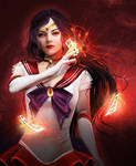 Sailor Mars by Eireen