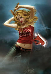 Buffy The Vampire Slayer by Eireen