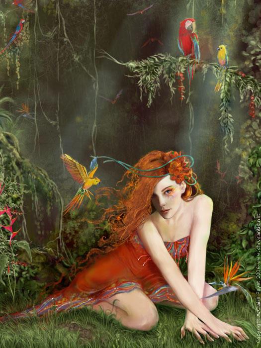 L'oiseau de Paradis by Eireen