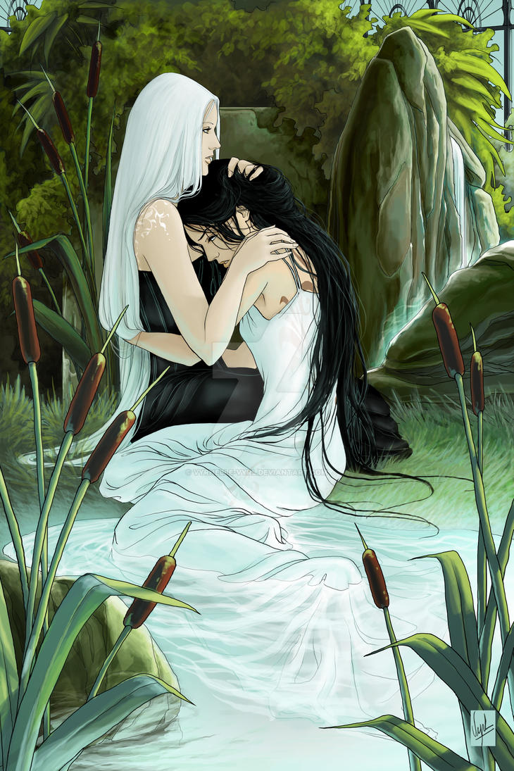 Helea and Elwen by Vyrhelle-VyrL