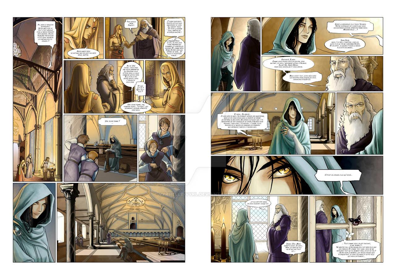 Chronicles of Arcea  p.12+13 by Vyrhelle-VyrL