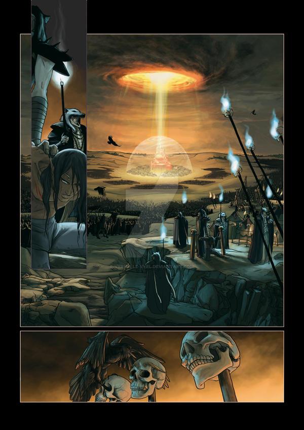 Chronicles of Arcea page 1 by Vyrhelle-VyrL