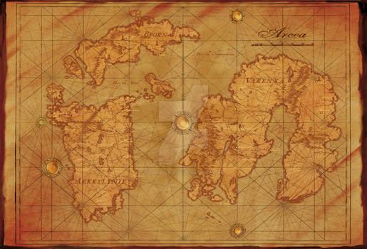 Map of Arcea