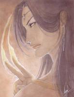 Watercolors :: Elandra by Vyrhelle-VyrL