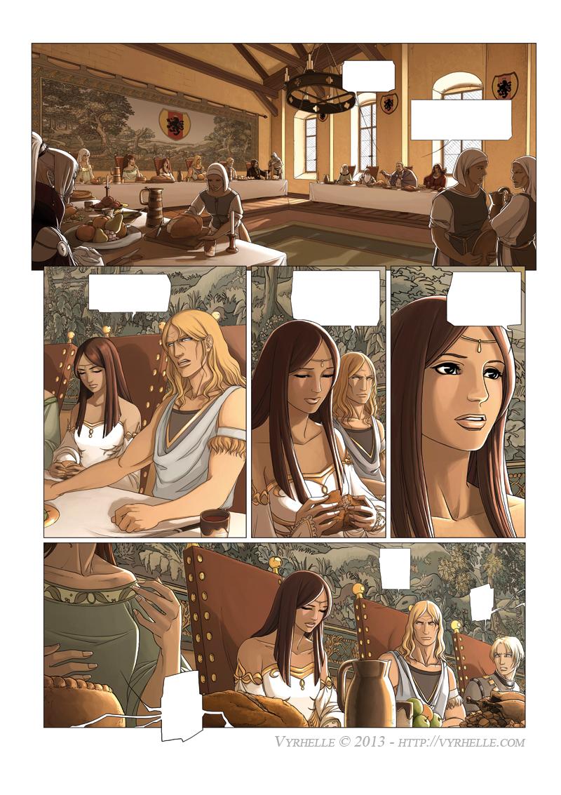 Les Chroniques d'Arcea Livre 2, page 2 by Vyrhelle-VyrL