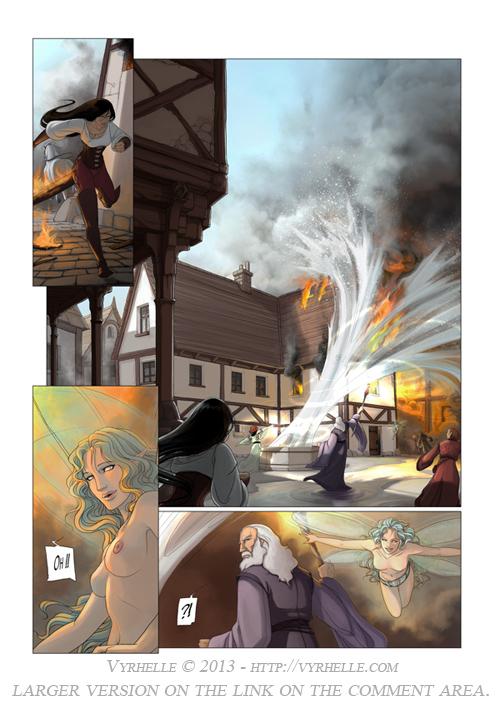 Les Chroniques d'Arcea Livre 2, page 5 by Vyrhelle-VyrL