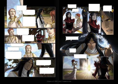 Les Chroniques d'Arcea Livre 3 - pages 2 et 3