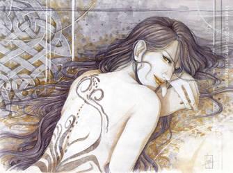 Les marques dans son dos by Vyrhelle-VyrL