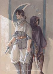 Ambre et Charnag
