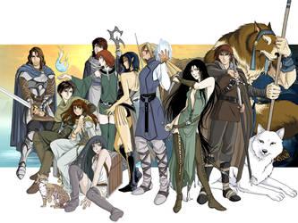 The Pilgrims by Vyrhelle-VyrL