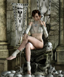 Pensive by Mirandus-Arts