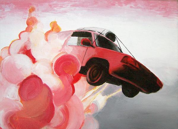mr Car and flying carpet by gnomzdziupli