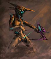 [WARFRAME] Huntress by SprinKah
