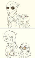 [Zootopia] Cheese and Crackers... by SprinKah