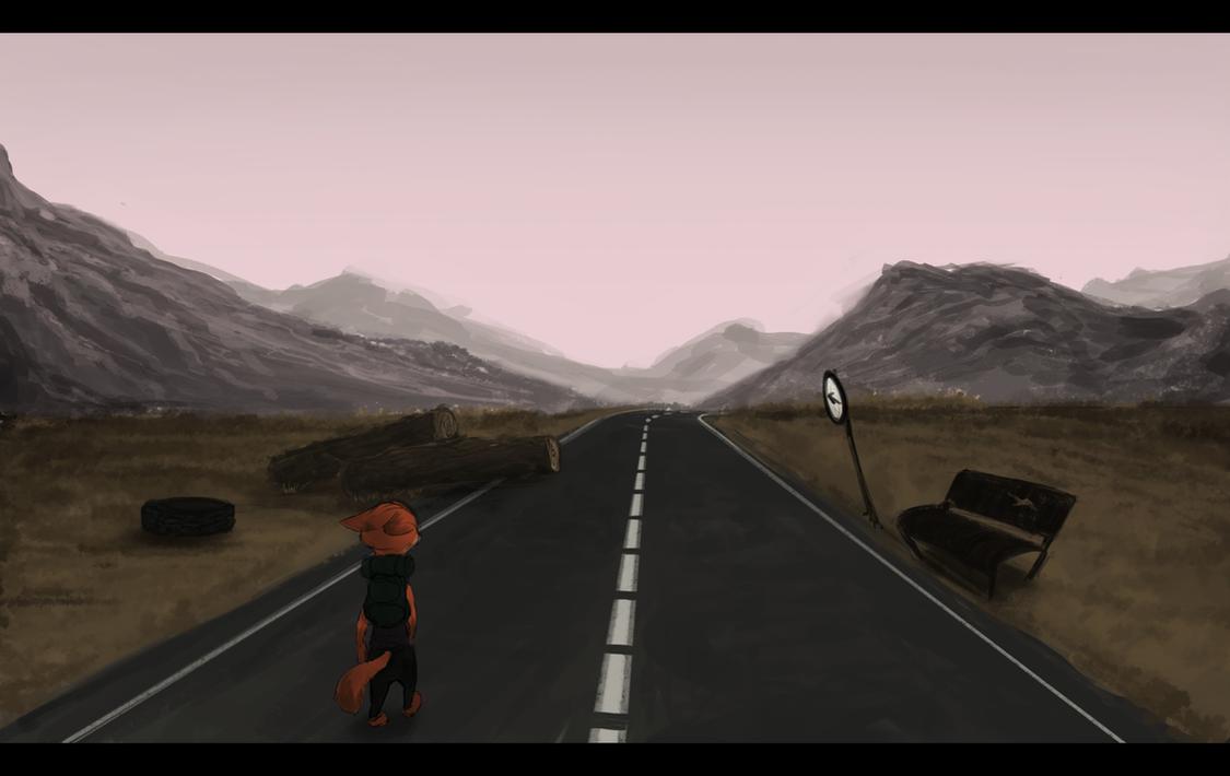 [Zootopia] What lies ahead is shrouded, hotshot. by EmberLarelle276