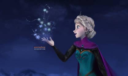 Frozen: Elsa the Snow Queen by annmelisse