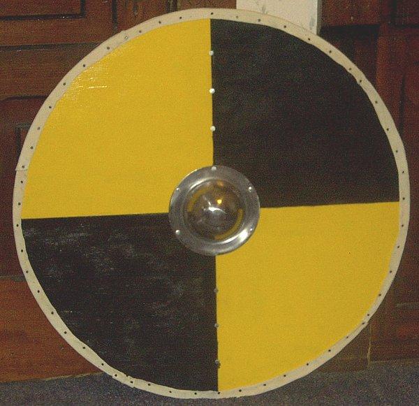 viking round shields